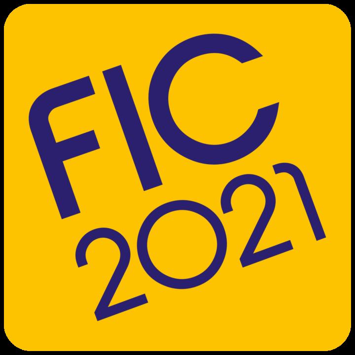 Logo FIC Jaune Violet